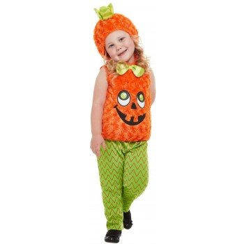 Toddler Pumpkin Fancy Dress Costume Halloween