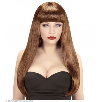 Fashion Wig Brown - Fancy Dress