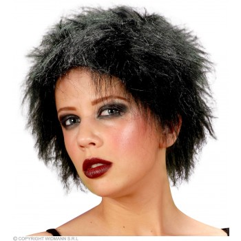Plush Wig Black - Fancy Dress