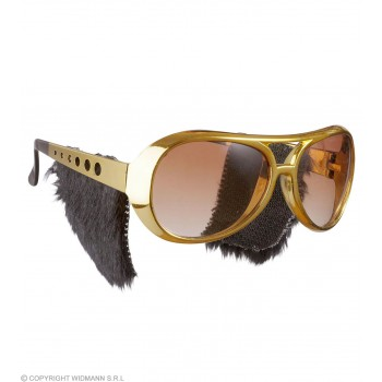 Rock 'N' Roll Glasses With Sideburns - Fancy Dress
