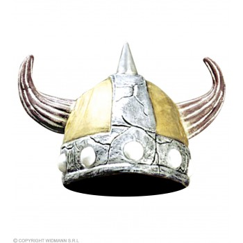 Viking Woman Helmet - Fancy Dress Ladies (Viking)