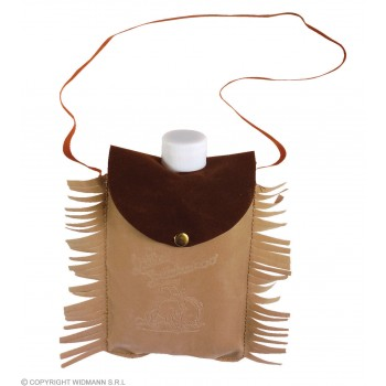 Suede Bag With Bottle - Fancy Dress