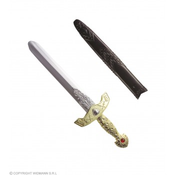 Royal Sword W/Scabbard 45Cm - Fancy Dress