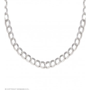 Necklace 60Cm Silver - Fancy Dress