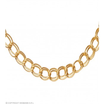 Necklace 60Cm Gold - Fancy Dress