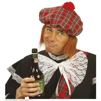 Scot Hat With Hair - Fancy Dress