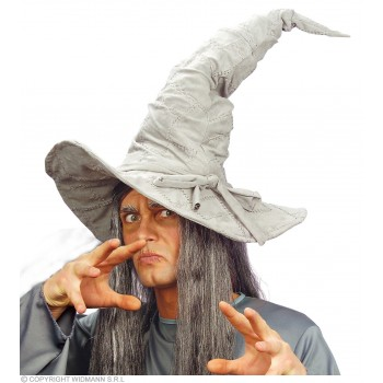 Witch/Wizard Hat Suedelook 3Cols - Fancy Dress (Halloween)