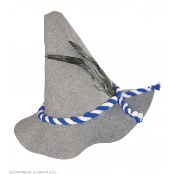 Bavarian Hat Thick Felt - Fancy Dress (Cultures)