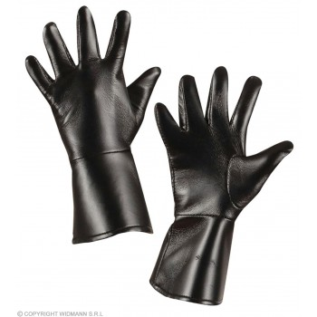 Gloves L/Look Child Black - Fancy Dress