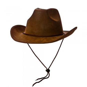 Cowboy Hat - Super Deluxe Brown Suede Hats