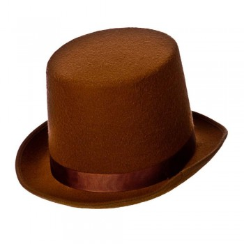Brown Top Hat / Indestructable / Perfect Fit Hats