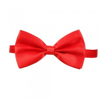 Satin Bow Tie - RED Accessories
