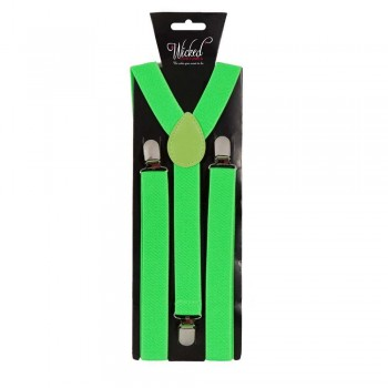 Adult Braces - NEON GREEN Accessories