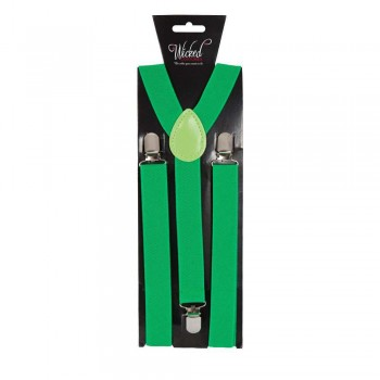 Adult Braces - BOTTLE GREEN Accessories