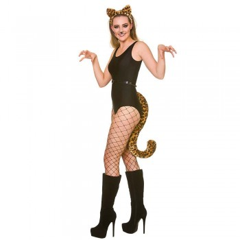 Giant Tail with Ears- Leopard Adult Animal Accessories