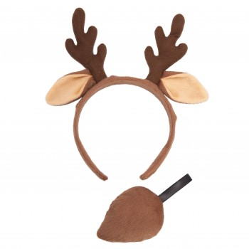 Ears & Tail - Reindeer Animal Accessories