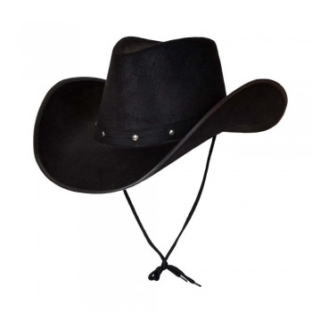 Texan Cowboy Hat - Black Hats