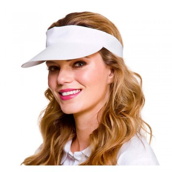 Golf Visor - White Hats (Casino)