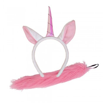 Ears & Tail - Unicorn Animal Accessories