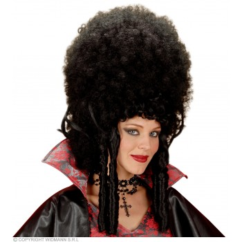 Madame Bovary Wig Black - Fancy Dress
