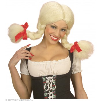 Heidi Wig Bendable - Fancy Dress