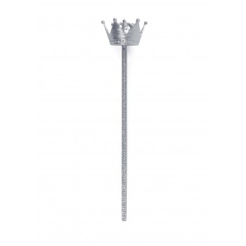 Crown Wand Silver