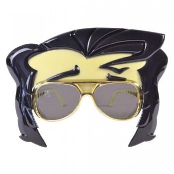 Rock n Roll Star Glasses with Quiff