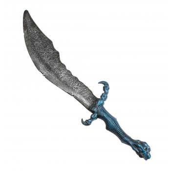 Fantasy Sword with Metallic Blue Handle