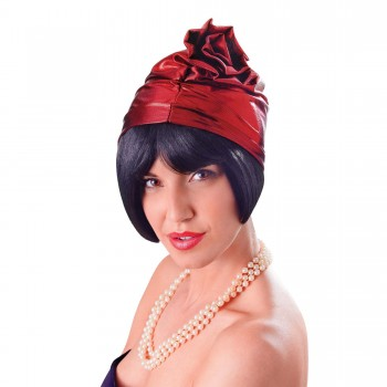 Red Cloche 20s Hat
