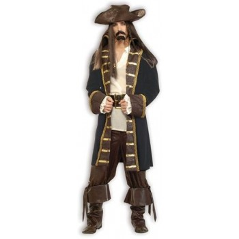 Pirate High Seas. Deluxe Quality Fancy Dress Costume