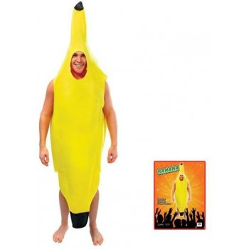 Banana Adult Fancy Dress Costume