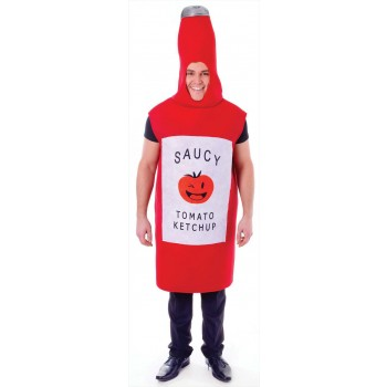 Tomato Sauce Bottle Party/Stag/Fun Run Fancy Dress Costume