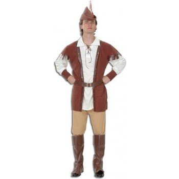 Robin Hood Man Deluxe Fancy Dress Costume