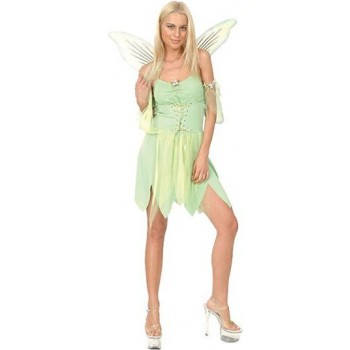 Green Fairy Fancy Dress Costume
