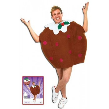 Xmas Pudding Fancy Dress Costume