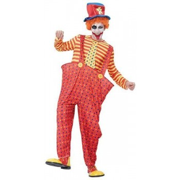 Hoop Clown Fancy Dress Costume
