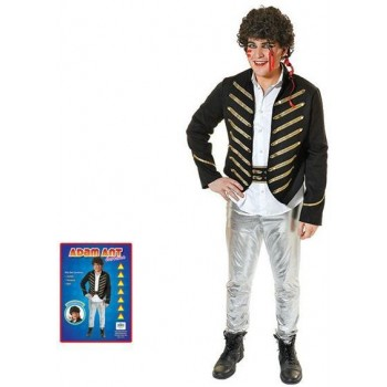 Adam Ant Fancy Dress Costume