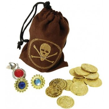 Pirate Coins & Jewellery (Pirates Fancy Dress)