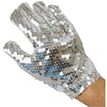 Sequin Glove (1980S , Music Fancy Dress Gloves)