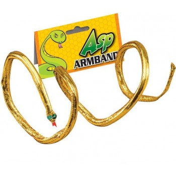 SNAKE ARMBAND. ORIGINAL (EGYPTIAN FANCY DRESS JEWELLERY)
