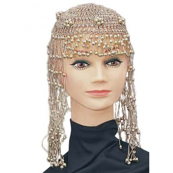 Ladies 20'S,70'S,Cleopatra Egyptain Headpiece Fancy Dress Accessory