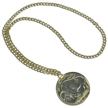 Gold Medallion (1970S , Pimp Fancy Dress Jewellery)