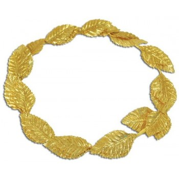 Roman Laurels. Gold Deluxe (Roman Fancy Dress)