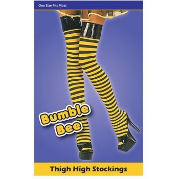 Bumble Bee Stockings (Animals , Sexy Fancy Dress Tights)