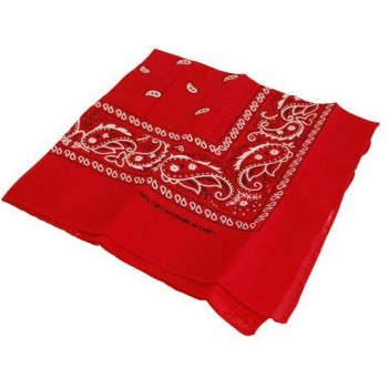 Cowboy Bandana/Red (Cowboys/Native Americans Fancy Dress)