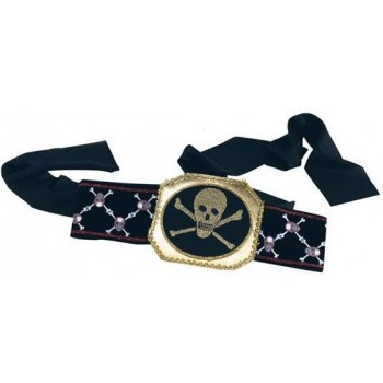Pirate Belt Deluxe (Pirates Fancy Dress)