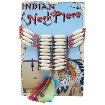 Native American Necklace Deluxe (Cowboys/Native Americans Fancy Dress Jewellery)