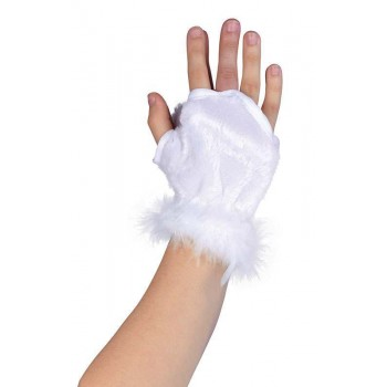 Fury Animal Glovelets. White