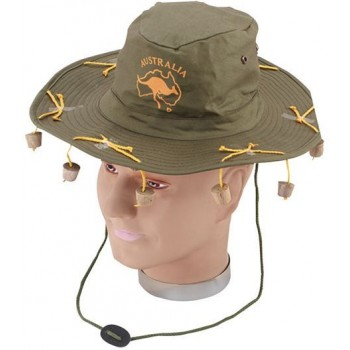 Australian Hat With Corks (Cultures Fancy Dress Hats)