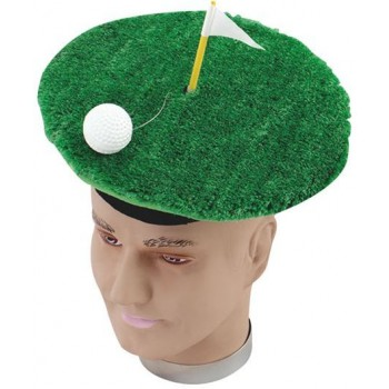 Golf Hat. Novelty Item (Sport Fancy Dress Hats)